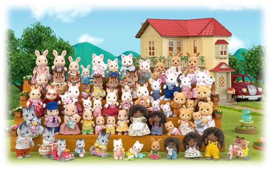 mini-and-me-sylvanian-families