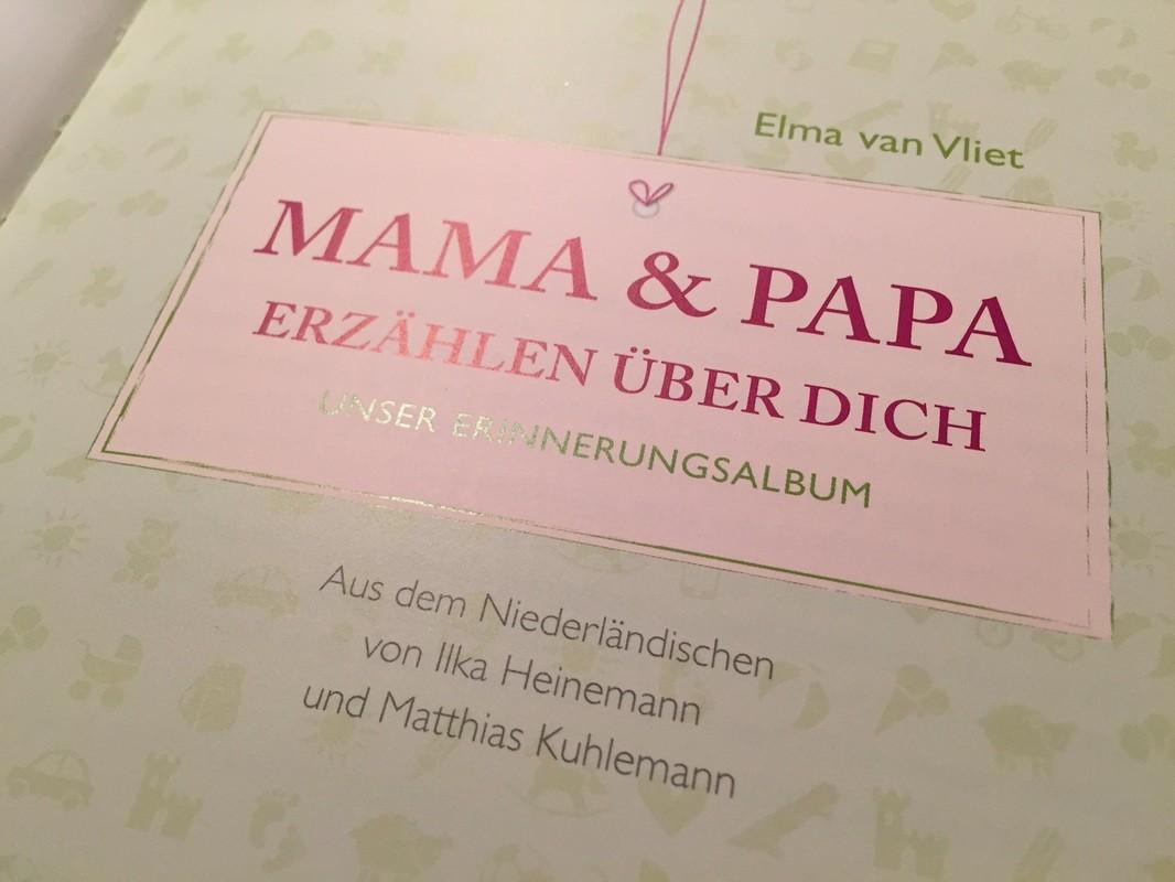 Mama liebt… eines der schönsten Geschenke zur Geburt: Platz für Erinnerungen