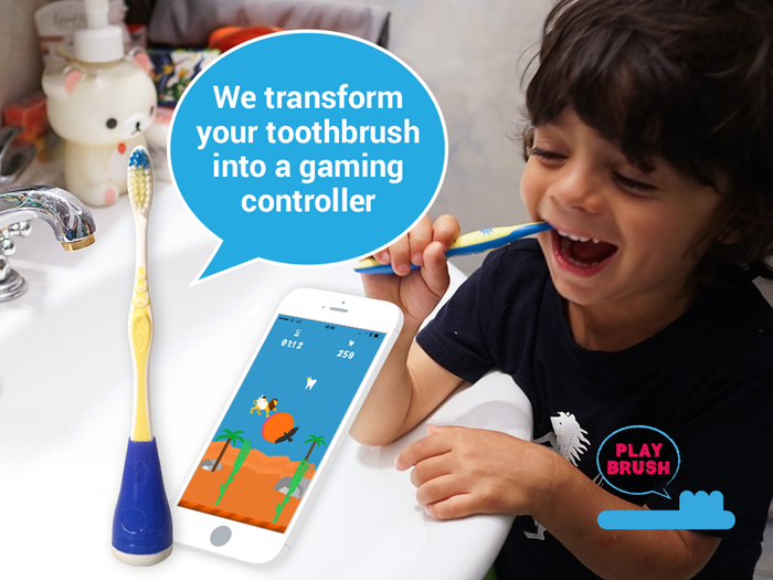 Playbrush – so macht Zähneputzen Spaß!