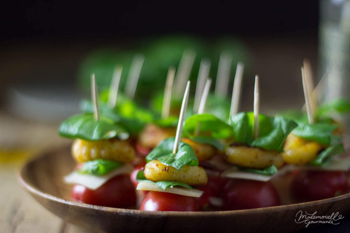 Gnocchi-Tomaten-Canapes
