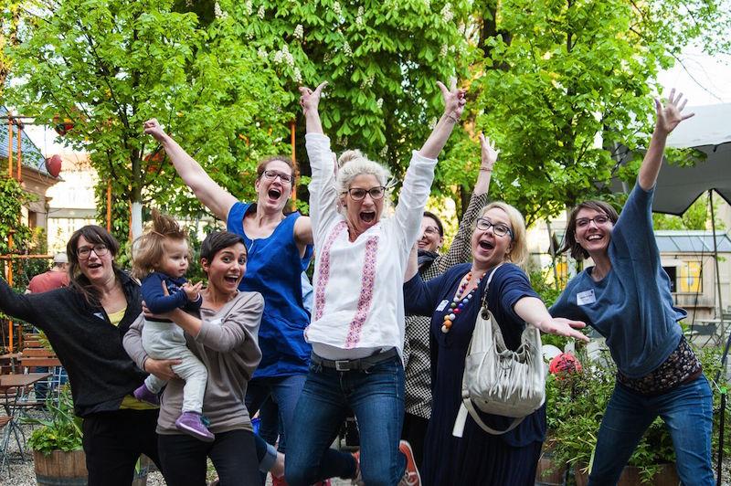österreichische mamabloggerinnen bei der blogfamilia