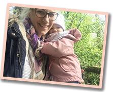 bloggerin Anja von gänseblümchen und sonnenschein in salzburg mit kind