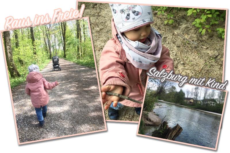 Raus ins Freie: Salzburg mit Kind