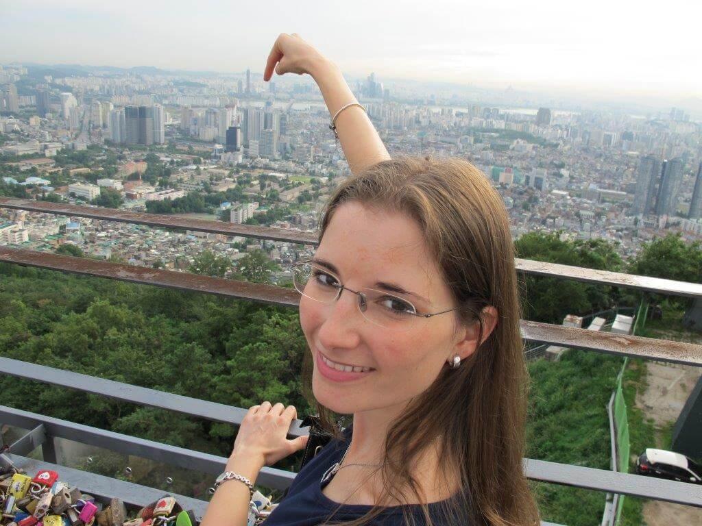 Im Ausland leben mit Kindern: Sandra lebt mit Papa und Baby in Seoul, Südkorea