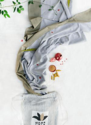 natürliches tragetuch für babys und Kleinkinder von mama Luka