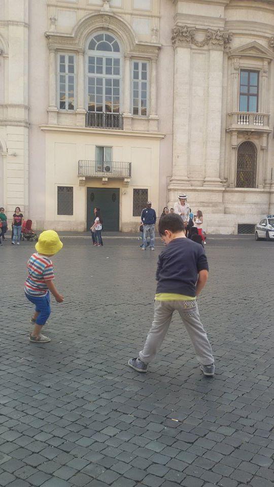 rom mit kindern entdecken