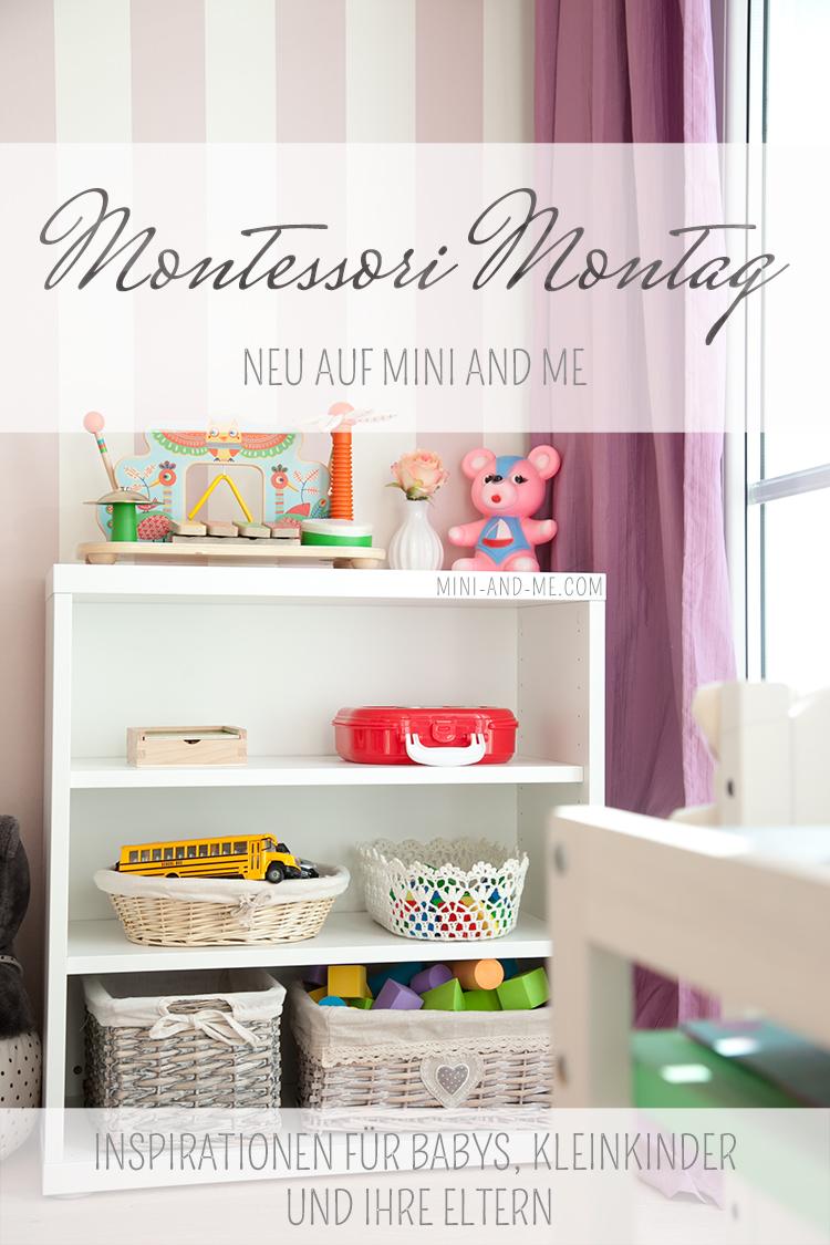 mini and me und nyani präsentieren gemeinsam den Montessori Montag mit Inspirationen für Babys, Kleinkinder und ihre Eltern