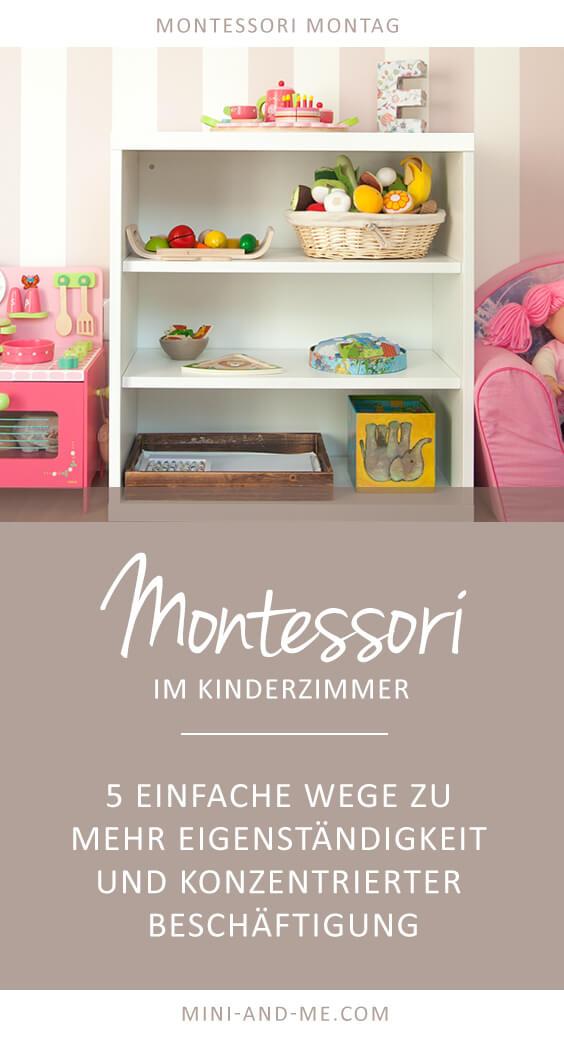 Kinderzimmer kleinkind  Montessori Basics im Kinderzimmer: 5 Wege zu mehr Eigenständigkeit ...