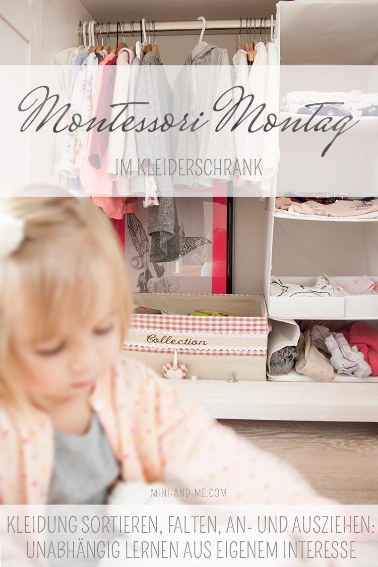 """Montessori im Kleiderschrank: Sortieren, falten, an- und ausziehen? """"Kann ich alles selbst!"""""""