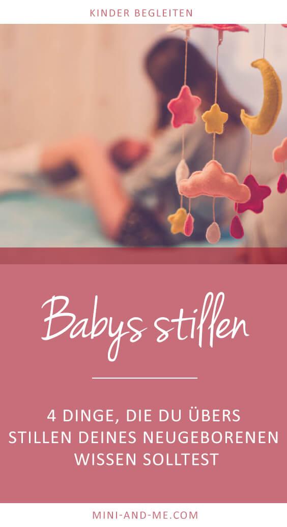Babys stillen: 4 Fakten, die du beim Stillstart kennen solltest (Neugeborenes stillen, Stillbeziehung, Stillbeginn, Fragen zum Stillen, Fakten zum Stillen, Stillberatung, Mythen rund ums Stillen, Mini and Me)