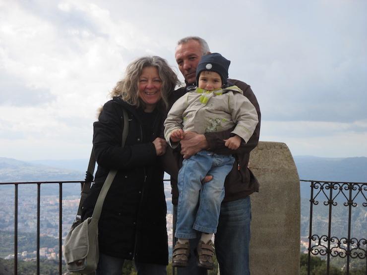 nach Sardinien ausgewandert: Christine und ihre familie