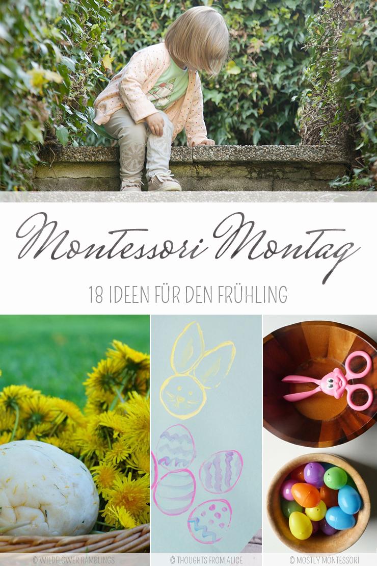 18 Montessori Inspirierte Ideen Für Den Frühling Und Ostern Wie