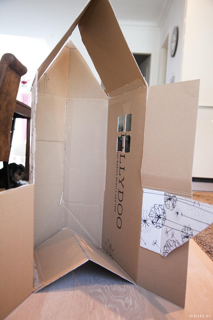 einfaches spielhaus selber bauen smartstore. Black Bedroom Furniture Sets. Home Design Ideas