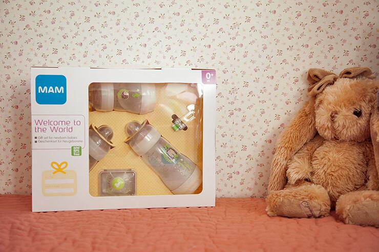 Giveaway: Gewinne eines von drei MAM Geschenksets für Babys