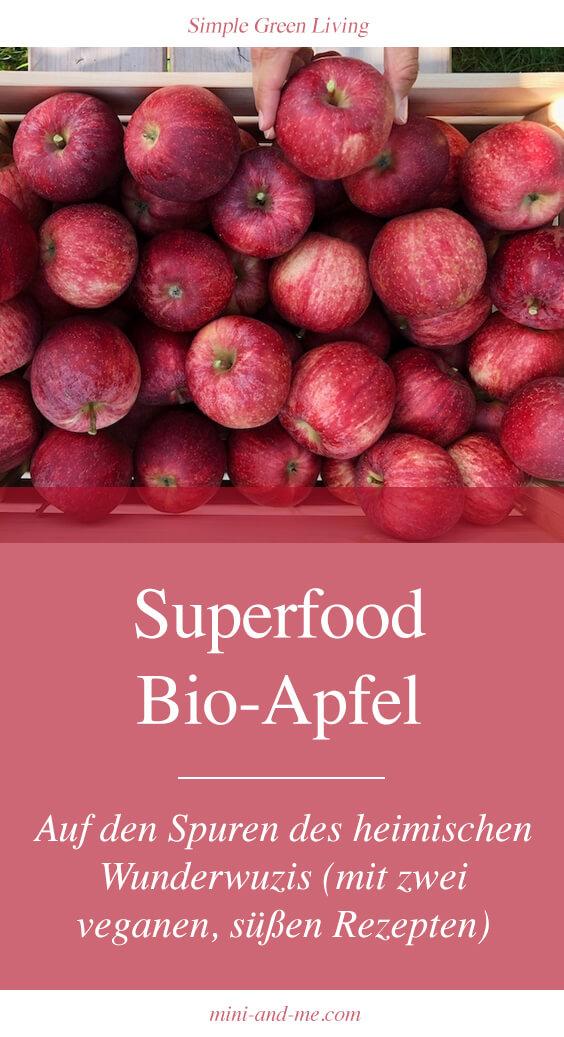 Bio-Apfel: Alles über das heimische #Superfood und zwei köstliche #vegane #rezepte #Apfelstrudel #Apfelmuffin