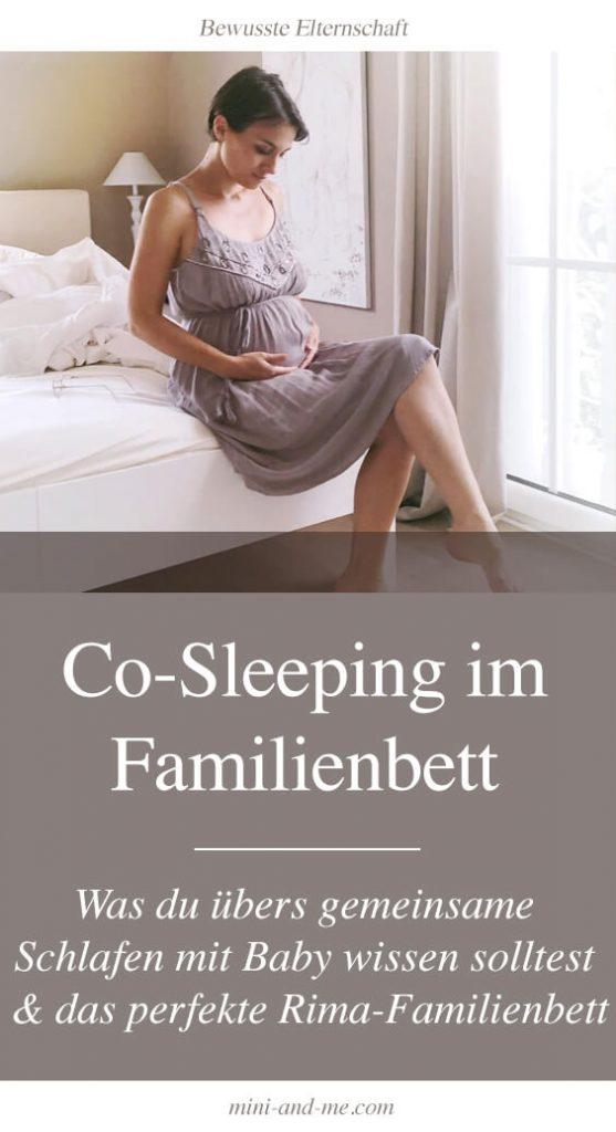 Co-Sleeping: Was du übers gemeinsame Schlafen mit Baby wissen solltest und das perfekte Rima-Familienbett
